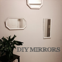 DIY Painted Mirrors