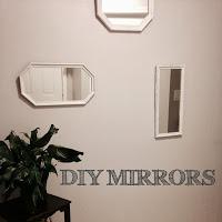 DIY Painted Mirrors