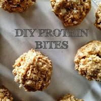 DIY Protein Bites