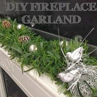 DIY Fireplace Garland