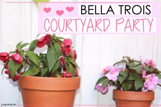 Bella Trois Courtyard 1