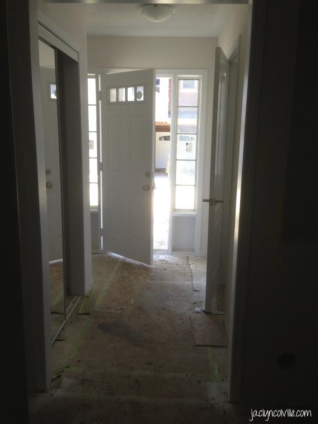 Jaclyn Colville Hallway Before 1