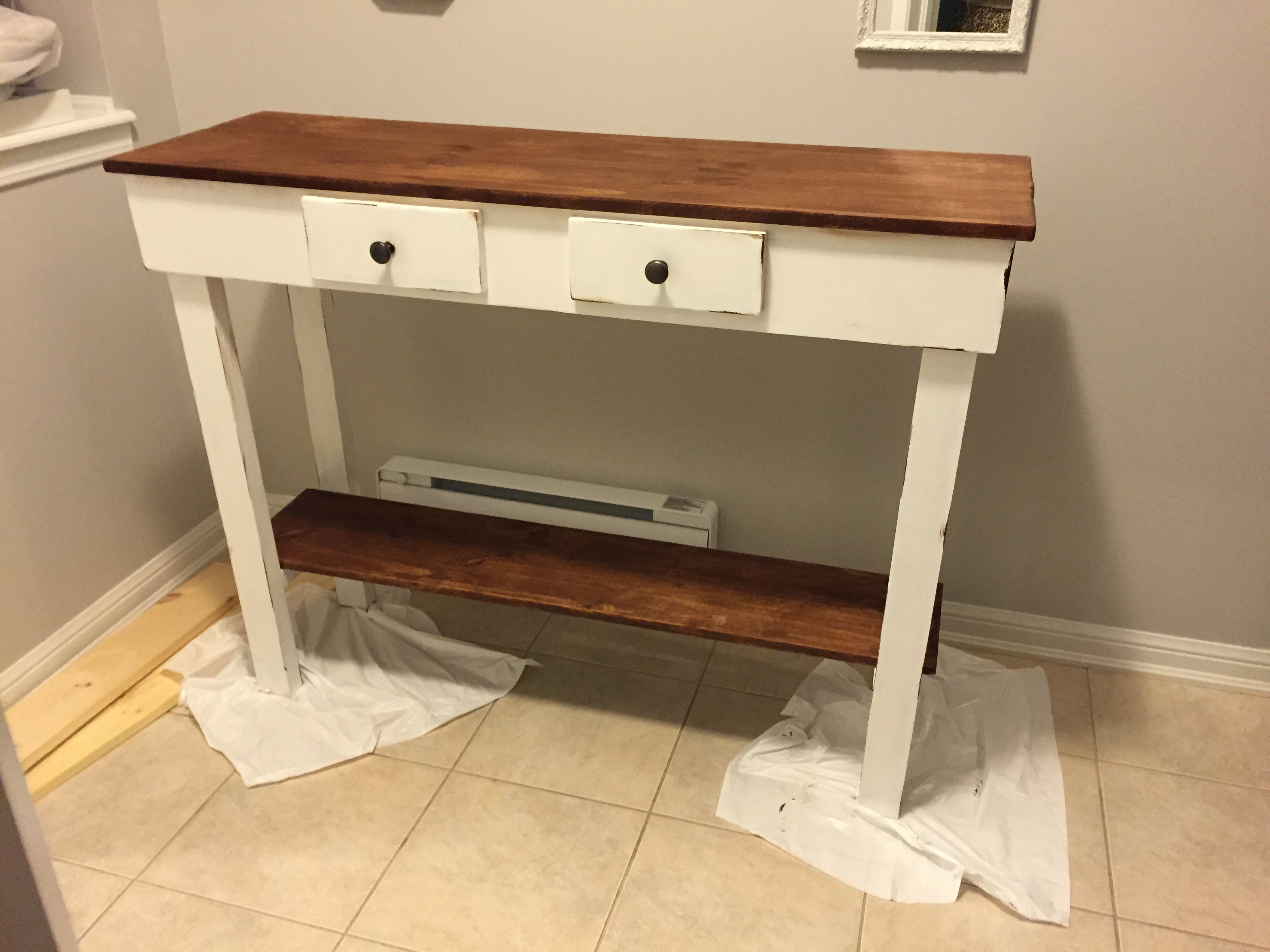 DIY SOFA TABLE JACLYN COLVILLE - Canadian tire bedroom furniture