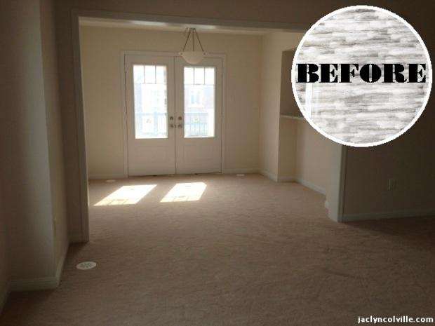Jaclyn Colville Living Room Before