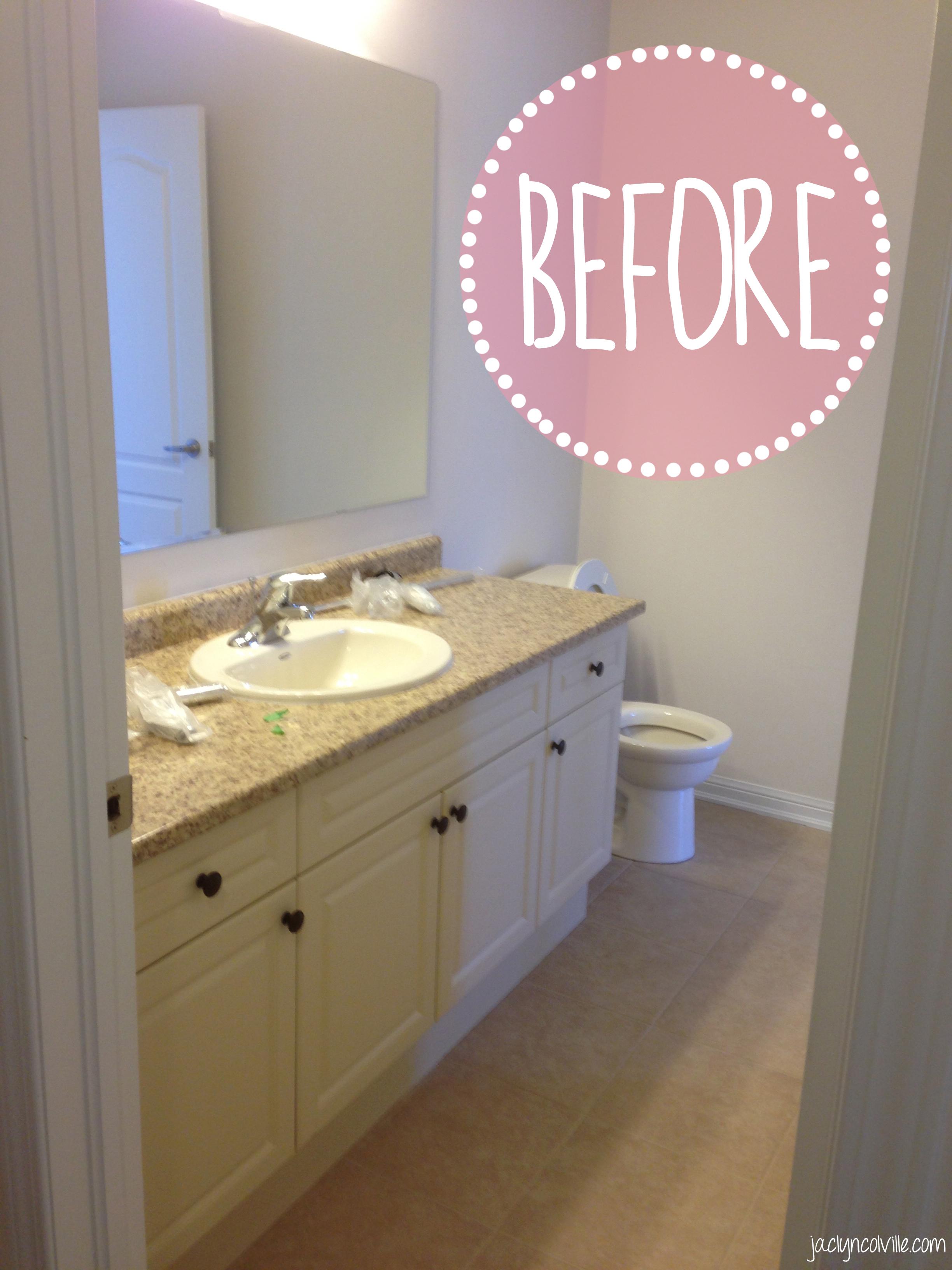 Cheap Bathroom Reno – JACLYN COLVILLE