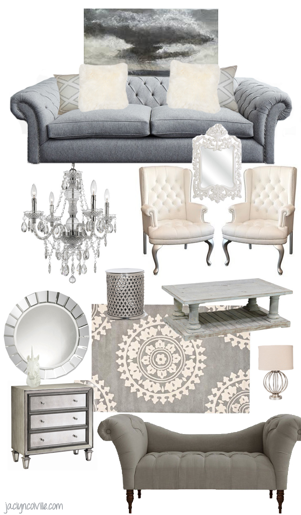 Jaclyn Colville Living Room Pinspiration