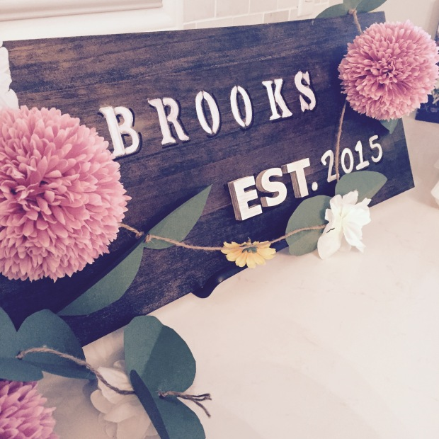 Rustic Wedding Sign 1