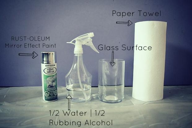 DIY Mercury Glass Items