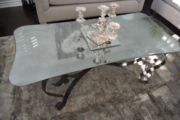 DIY Mercury Glass Table 5