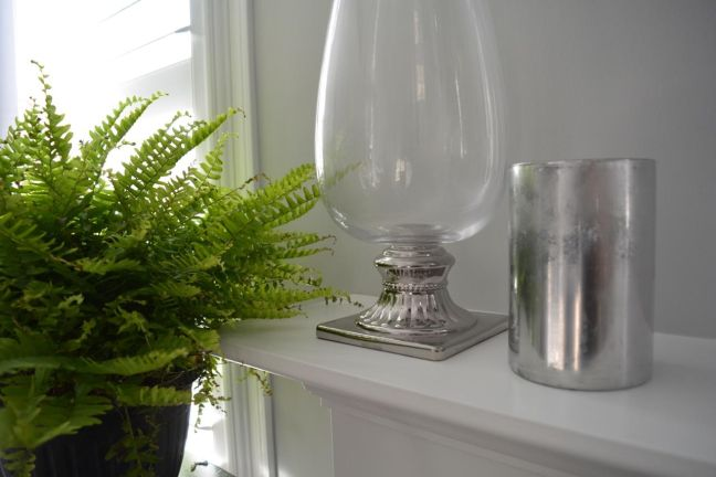 DIY Mercury Glass Vase