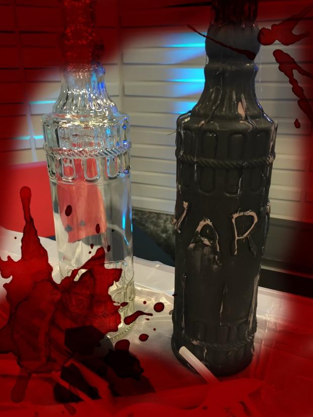 DIY Halloween Decor Potion Jar